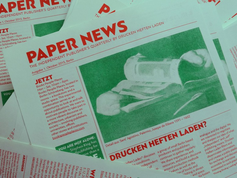 Paper News – The Independent Publisher's Quarterly
