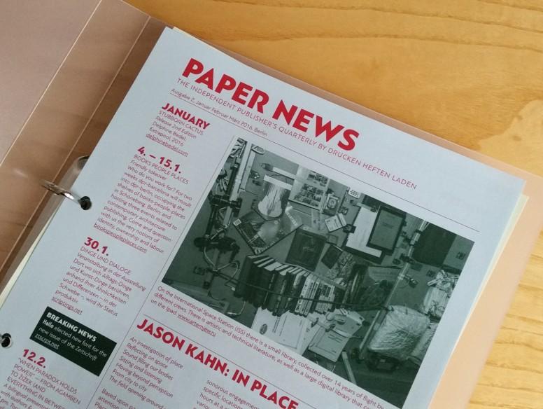 Paper News 2 2016